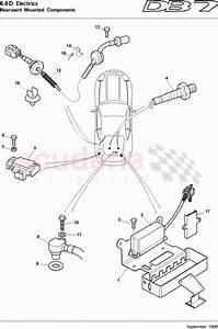 Aston Martin Db7  1997  Rearward Mounted Components Parts