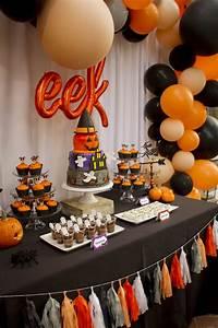 Kara, U0026, 39, S, Party, Ideas, Enchanting, Backyard, Halloween, Party