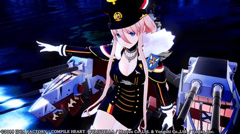 azur lane crosswave adds kms bismarck   playable