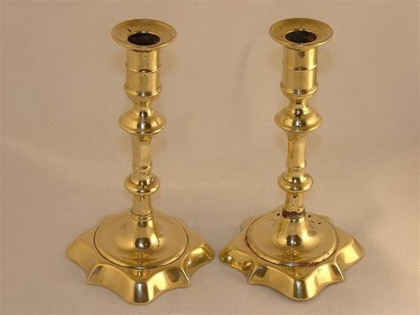 candlestick ls for sale pair 18th century brass candlesticks for sale antiques