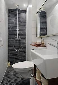 petite salle de bain 30 idees damenagement With photo petite salle de bain douche