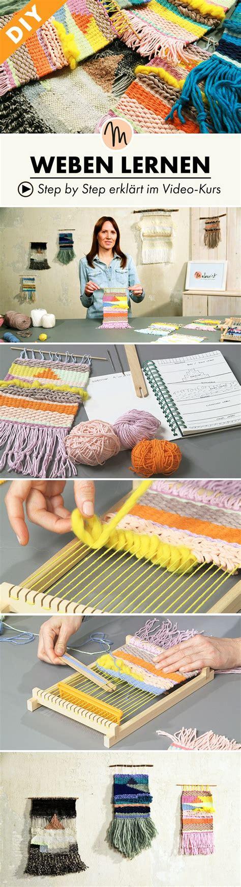 erstelle dein eigenes haus webe deinen eigenen webteppich und lerne grundtechniken um muster und farben zu vereinen step