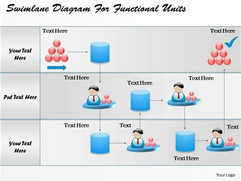 powerpoint swimlane template 62017687 style essentials 2 swimlanes 1 powerpoint presentation diagram infographic slide