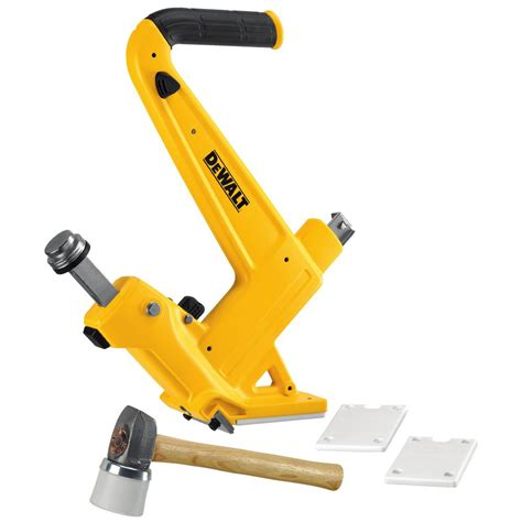 Hardwood Floor Nailer Home Depot by Dewalt 16 Manual Hardwood Flooring Nailer Dwmfn 201