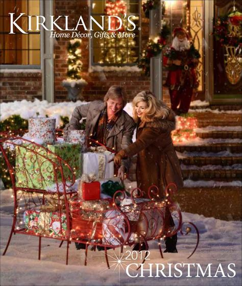 christmas ideas catalogues 13 best images about kirklands catalog on mantles settees and peace on earth