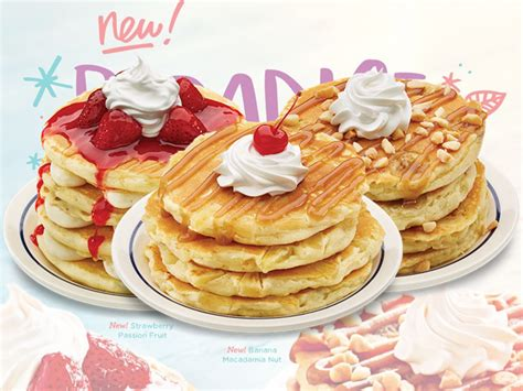 pancake flavors ihop introduces new tropical pancake flavors chew boom