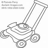 Lawn Mower Outline Coloring Grass Cutter Cartoon Clipart Clip Pages Drawings Farm 300px 28kb Acclaimimages Illustration sketch template