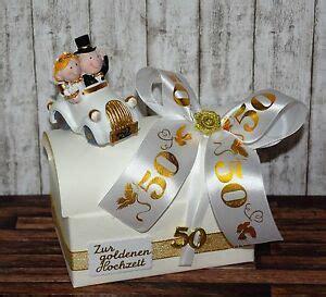 bastelideen goldene hochzeit ღ geschenk zur goldenen hochzeit ღ goldene geld geldgeschenk geschenkbox 50 ebay