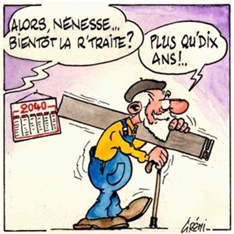 si e dessinateur dessins humoristiques la retraite