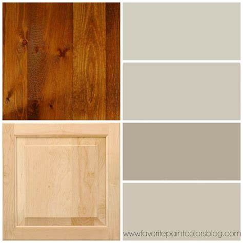 paint color for trim greige paint colors to go with wood trim and cabinets from top to bottom the paint colors are