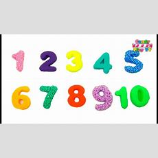 Learn To Count 1 To 10  Play Doh Numbers  Counting Numbers  Learn Numbers For Kids Toddlers