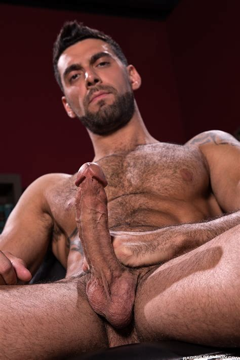 Mick Stallone Uses The Tip Of His Cock To Tease Ace Eras
