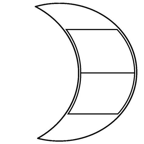 moon template paper carving templates favorites creating keepsakes