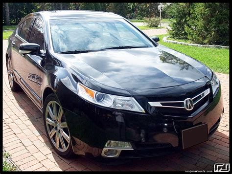 2010 Acura Tl Grille acura tl with ronjon grill