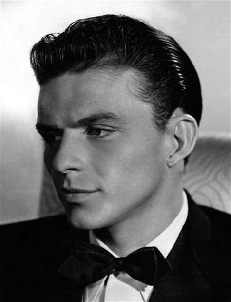 classic hairstyles  men      slicked