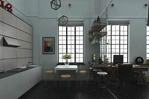 industrial-loft-design Interior Design Ideas