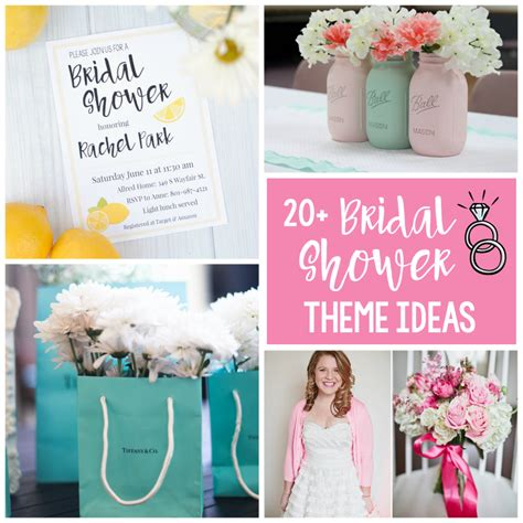bridal shower theme ideas squared