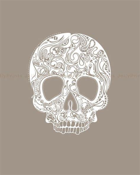 Skull Art Abstract Skulls Pinterest