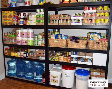 food storage kitchen an peek inside a prepper s pantry preppers 1043