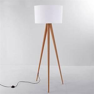 Lampe Trepied Ikea : lampadaire 3 pieds bois lampe trepied ikea studioneo ~ Teatrodelosmanantiales.com Idées de Décoration