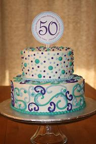 Birthday Cakes 50th Women