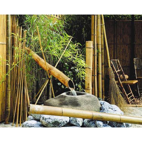 tuteur bambou droit nortene   leroy merlin