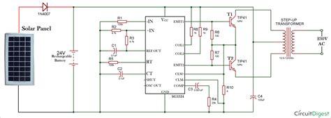 How Make Solar Inverter Circuit
