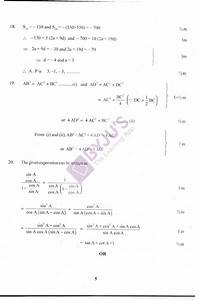 Cbse Class 10 Maths Previous Year Question Paper 2010 - Solutions