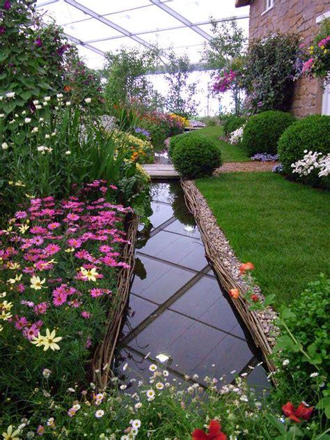 Cottage Garden Flower Bed  Gardens Pinterest