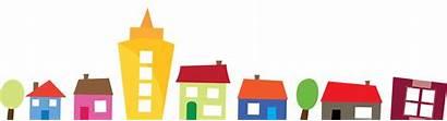 Row Houses Neighborhood Clipart Transparent Clip Events