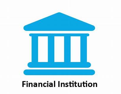 Financial Icon Institution Banking Accounting Computerized Data