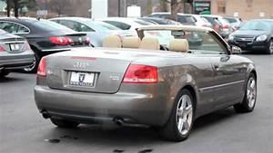 Audi A4 Cabriolet : 2007 audi a4 cabriolet 2 0t village luxury cars toronto ~ Melissatoandfro.com Idées de Décoration