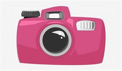 Camera Cartoon Pink Clipart Nicepng