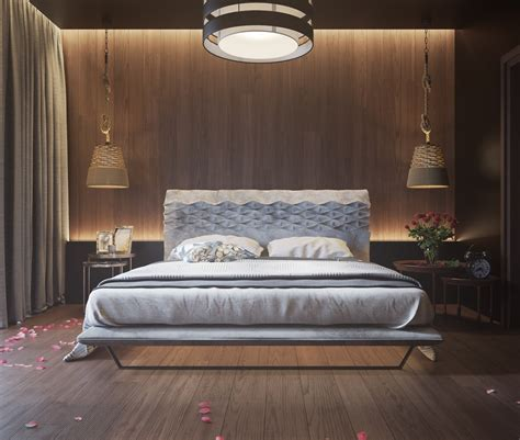 luminaire mural chambre 11 ways to a statement with wood walls in the bedroom