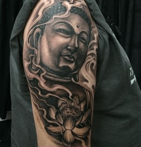 tatouages boudha epoustouflants tattoome le