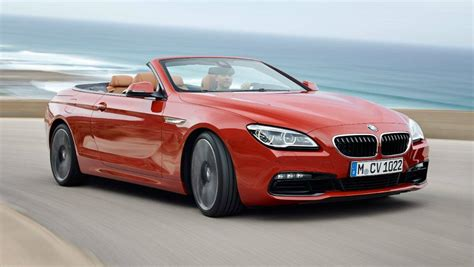 Bmw New Models 2015 by 2015 Bmw 6 Series And M6 Models Revealed Car News