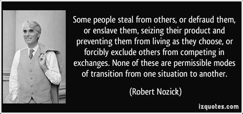 people steal    defraud   enslave