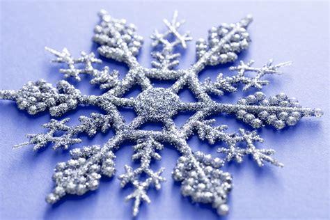 Glitter Snowflake Background by Photo Of Ornamental Silver Glitter Snowflake Free