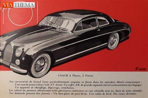 Bugatti Type 101 Sales Brochure, Folder, Prospectus for ...