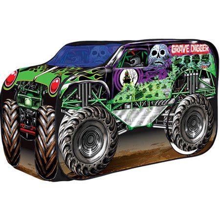 grave digger monster truck fabric grave digger vehicle walmart com