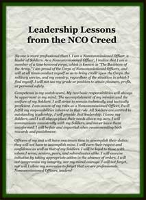 Army NCO Creed
