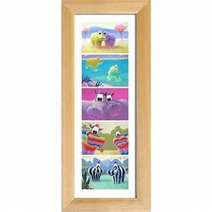 Poster Chambre Bébé : affiche chambre b b poster hippopotame s rie verticale c l panoramique ~ Teatrodelosmanantiales.com Idées de Décoration
