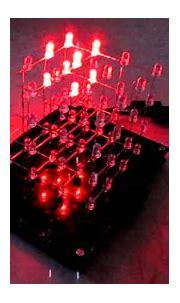 3D LED Cube - YouTube