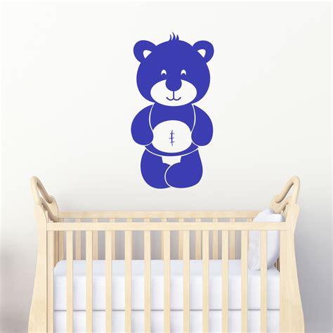stickers chambre bébé nounours stickers muraux nounours simple stickers muraux coraux