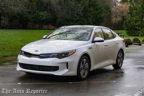 Kia Optima Ex Hybrid by 2017 Kia Optima Hybrid Ex Review The Auto Reporter