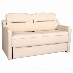 Details about frontier ii luv sofa bed rv furniture for Sectional sofas for campers