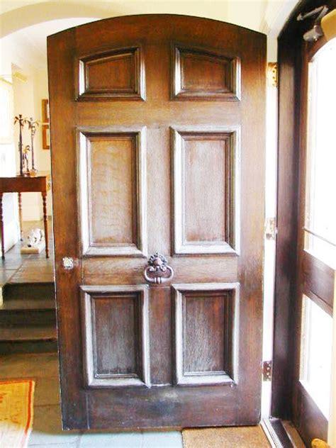restoration preservation doors  carved oak door