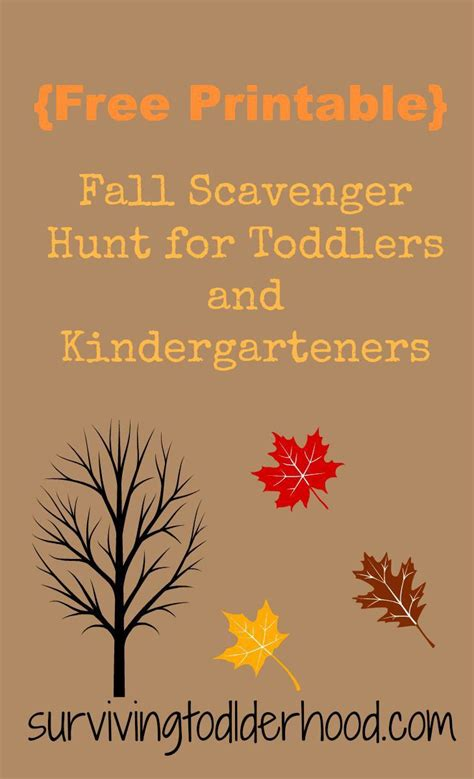 free printable fall scavenger hunt for toddlers and 852   a06c8514ced5466ed6ffaf475d246168 scavenger hunts preschool ideas