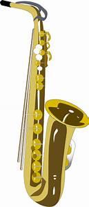 Saxophone 2 Clip Art at Clker.com - vector clip art online ...