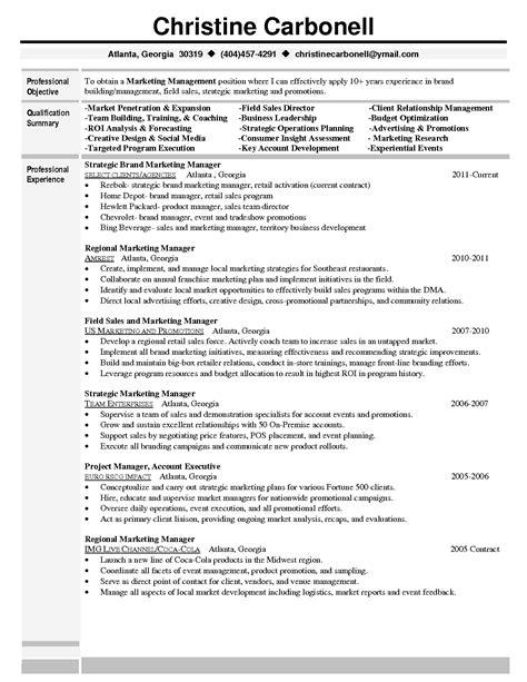 marketing manager sle resume pdf dadaji us